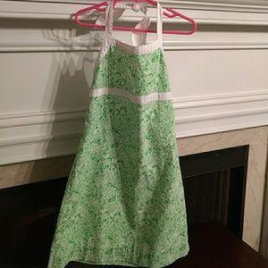 Lilly Pulitzer halter dress